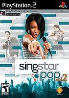 Sony PlayStation PS2 Black Label SINGSTAR POP Vol 2 New~Sealed