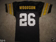 Rod Woodson #26 Pittsburgh Steelers NFL Champion Jersey Youth SM S 6-8 small NEW