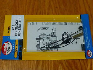 Model Power HO #11 Smoke Generator kit for Steam Locomotives