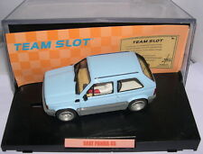 TEAM SLOT 72403 SEAT PANDA 45  URBAN CAR  BLUE  RESINE   MB