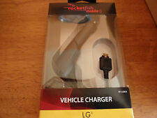 Brand New! Rocketfish RF-LGB55 - Vehicle Charger for Most LG Mobile Cell Phones