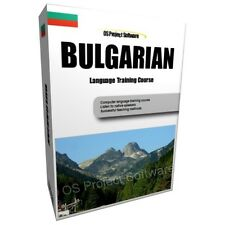 LEARN TO SPEAK BULGARIAN LANGUAGE TRAINING COURSE PC DVD NEW