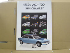 Paul's Model Art / Minichamps Katalog, Edition 1, 2014, deutsch, 156 Seiten