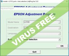 RESET EPSON L3150,✅reset waste ink counter 100%🔑Unlimited 1Pc key🔥emailed⭐⭐⭐⭐⭐