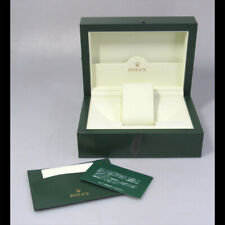 GENUINE ROLEX watch box case wave 31.00.04 with Card case