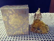 Avon Vintage Brocade Cologne Petti Fleur Flower Bottle 1960s - 1970's Nib/Nice