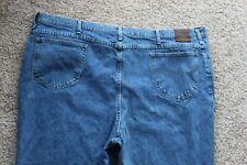 Lee Regular Fit Straight Leg Mens Blue Jeans Sz 54x32 #2100244 Acutal 52x32