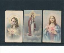 3 Heiligenbilder, Holy-Card, Santino  (HB2)