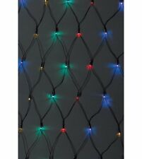 2M X 2M MULTI COLOUR LED NET LIGHT OUTDOOR OR IN MULTI ACTION LIGHTS