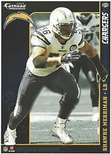 SHAWNE MERRIMAN SAN DIEGO CHARGERS MARYLAND TERPS FATHEAD TRADEABLES 2009 G99