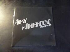 CD DOUBLE ALBUM - AMY WINEHOUSE - BACK TO BLACK