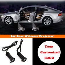 2x Your Customized Logo Ghost Shadow Car Door LED Projector Laser Lights