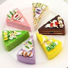 Artificial Simulation Fake Food Household Decor Small Cream Triangular Cake
