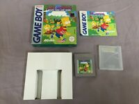 Bart Simpson's - Camp Deadly -Cib Nintendo Gameboy Gb Pal - Boxed Ovp - Game Boy