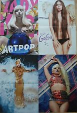 4 Poster  __  LADY GAGA   __   Sammlung  //  Collection  each Poster 28 x 42