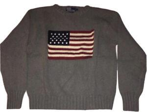 Polo Ralph Lauren Knit American Flag Sweater