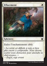 MTG Magic KTK - (4x) Erase/Effacement, French/VF