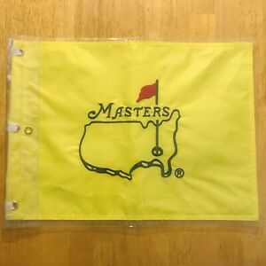 MASTERS UNDATED EMBROIDERED PIN FLAG AUGUSTA NATIONAL NICE!!