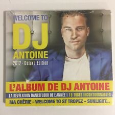 Welcome To DJ Antoine 2K12 Deluxe Edition cd 19 titres neuf sous blister