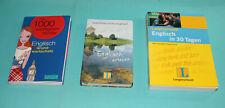 3 Wörterbücher Englisch - Deutsch  von Pons und Langenscheidt