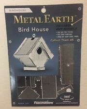Metal Earth Bird House 3D Laser Cut Steel Model Kit