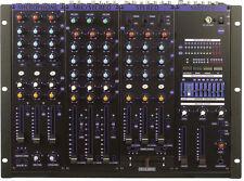 VocoPro KJM8000PROPLUS 9 CH Pro Kj/dj Mixer With Digital Key Control & 7 Band EQ