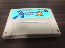 Rockman X Mega Man X (Super famicom) sfc snes cartridge only free shipping