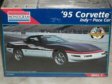 Monogram 1/24 Scale '95 Corvette Indy Pace Car - Factory Sealed