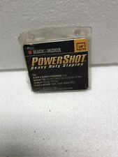 black and decker power shot staples 3/8� 1000 staples
