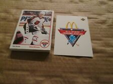 1991-92 McDonald's Hockey All-Stars..CANADA ONLY,COMPLETE