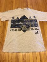 Dallas Cowboys Vintage 90's Riddell Single Stitch Shirt Mens Small EUC Rare