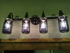 Mason Jar Bathroom Vanity Lights! Custom made to your liking!