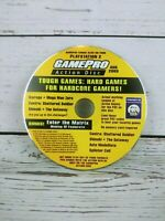 GamePro Action Disc PS2 Playstation 2 Tough Games August 2003 Disc Only