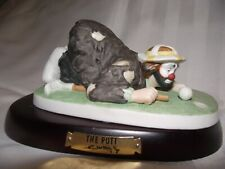Emmett Kelly Jr Collectible Figurine The Putt (golfer) Very Good Condition
