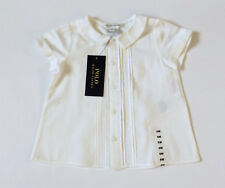 Ralph Lauren White Cotton Blouse Baby Girl Age 6mths