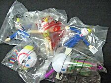 Lot 5 SEALED Jack-in-the-BOX collectable items Bendy toy antenna ball
