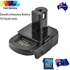 Battery Convert Adapter For Milwaukee battery dewalt battery to Ryobi 18V tools