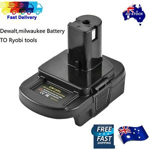 Battery Convert Adapter For Milwaukee battery dewalt battery to Ryobi 18V tools