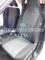 TO FIT A NISSAN X-TRAIL, CAR SEAT COVERS, RETROLL GREY 2 FRONTS