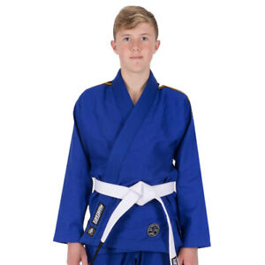 Tatami Fightwear Kid's Nova Absolute BJJ Gi - Blue