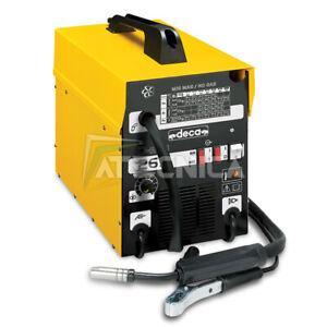 Máquina de Soldadura Al Ras Continuo deca D-Mig 265 145 Amp Soldaduras Gas Nogas