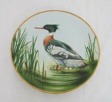 The Danbury Mint Collectable plates - Waterbird plates - Red Breasted Merganser