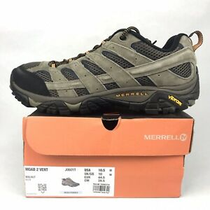 Merrell Moab 2 Ventilator Walnut Hiking Low Shoes J06011 Men's Size 10.5 Vibram