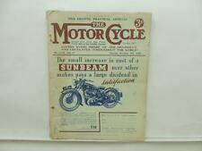 Dec 1936 The Motorcycle Magazine Sunbeam New Imperial Ariel AJS Velocette L8685