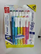 Pilot Frixion Fineliner Erasable Colors 13 Pens 07 Mmmarker Pen Assorted
