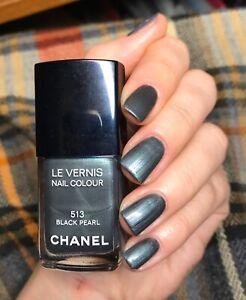 chanel nail polish 513 Black pearl rare limited edition 2011 Spring BNIB