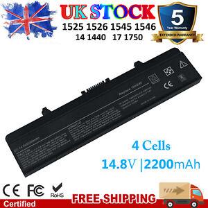 GW240 Laptop Battery for Dell Inspiron 1525 1526 1545 1546 (2200mAh 14.8V)