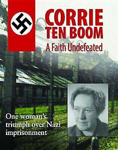 Corrie ten Boom: A Faith Undefeated DVD War Documentary Jewish Nazi Themes