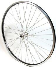 "Rigida ZAC 19 28"" Zoll Vorderrad mit Shimano RM40 Nabe Schwarz Laufrad Rad Felge"