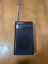 Sony ICF-P26 Portable AM/FM Radio With Headphone Jack